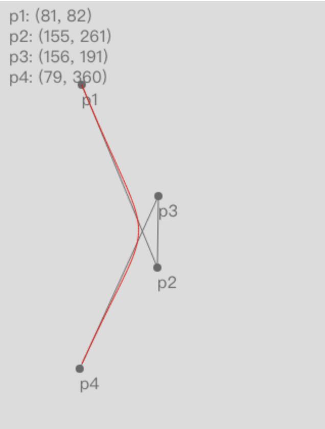 三阶贝塞尔曲线