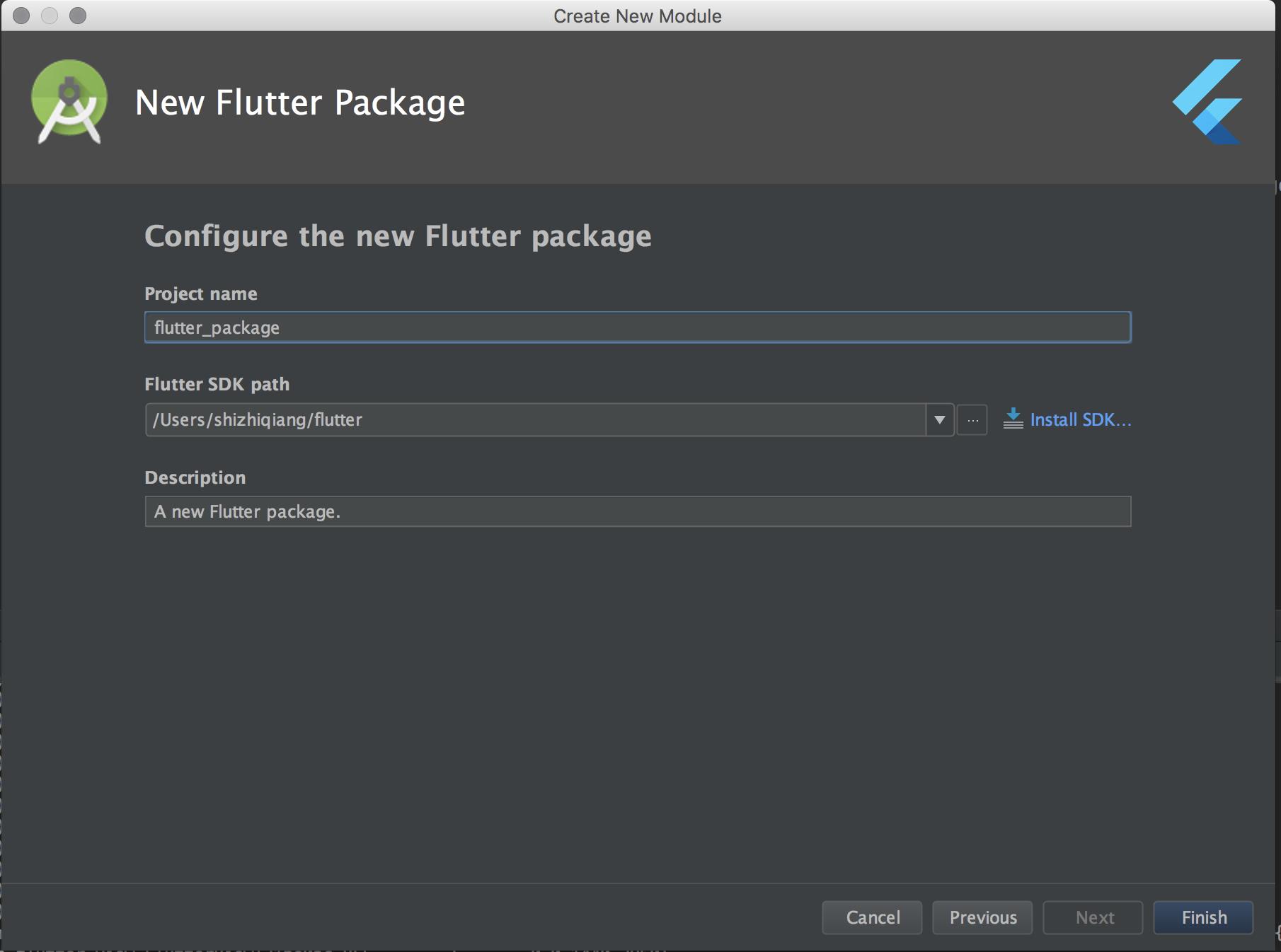 Flutter 目录结构